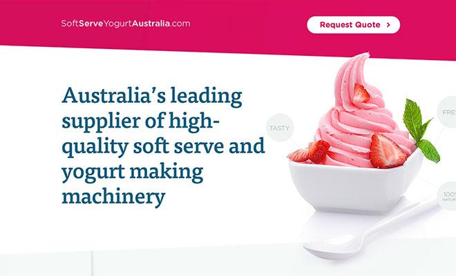 Soft Serve Yoghurt Australia