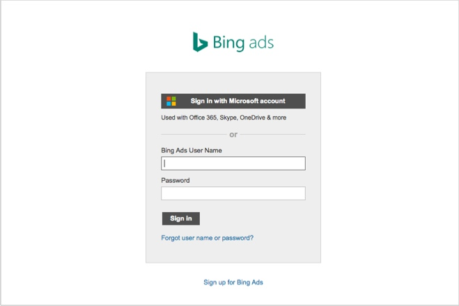 Bing - alternative ways to pay for traffic