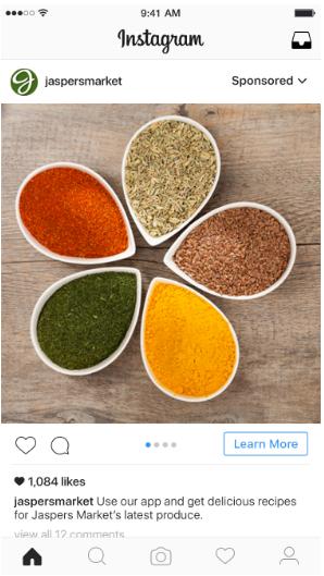 Carousel ads for Instagram