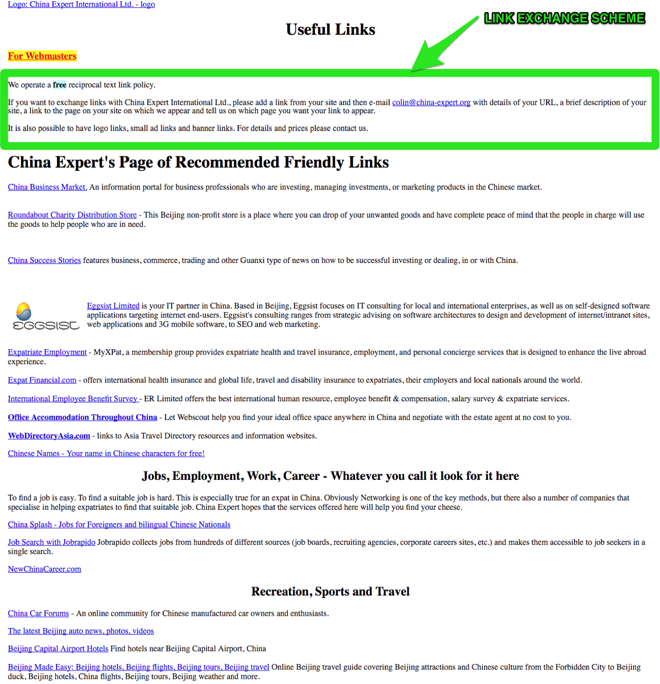 Resource List Example of link building tactics - Image 27