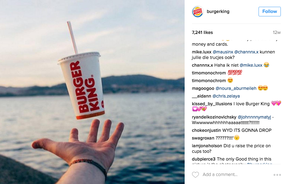 create space for Instagram Engagement