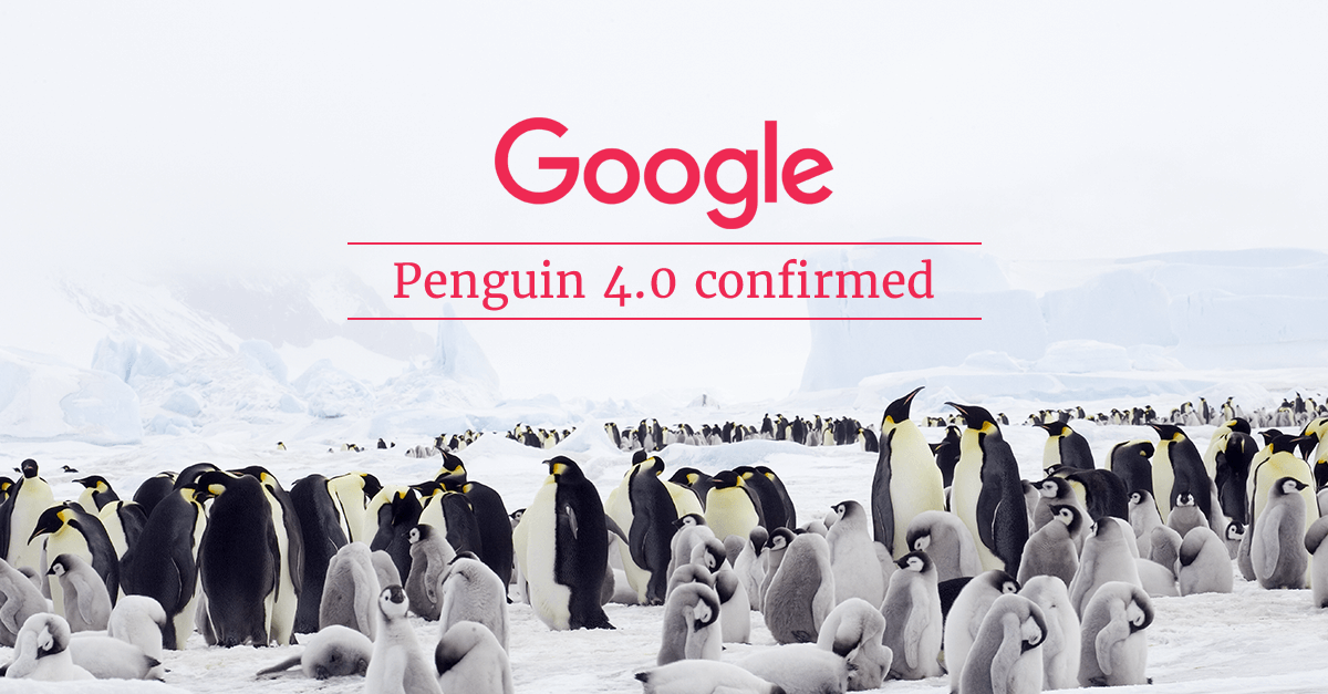 Google Penguin 4.0 confirmed