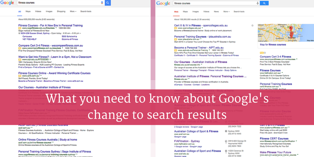 What you need to know about Google's change to search results