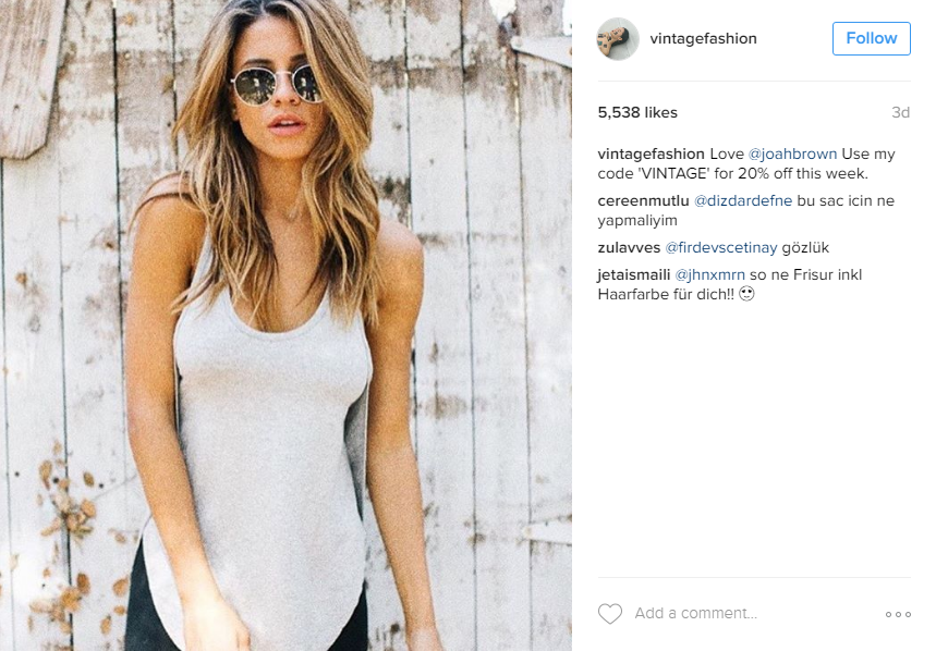 make a fashion statement for Instagram Engagement